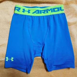 UA緊身短褲  訓練 健身 S號 1257470-405