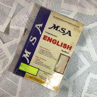 MSA Comprehensive English Reviewer