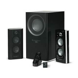 For sale: Altec Lansing MX5021 2.1 THX speaker