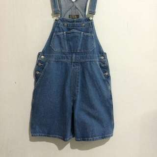 OVERALL DENIM OLD NAVY