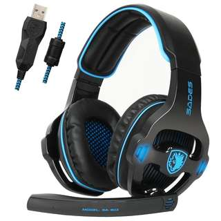 New & Original SADES SA-903 (Black) gaming headset