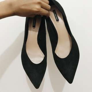 For Sale Stradivarius Black Heels Shoes