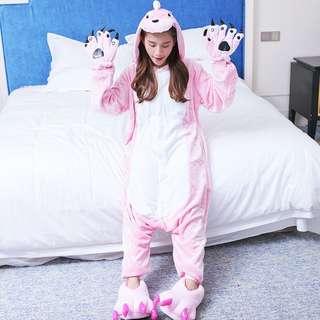Pink Dinosaur Adult Onesie