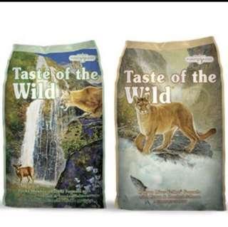 Cat Food Taste Of The Wild. 7kg