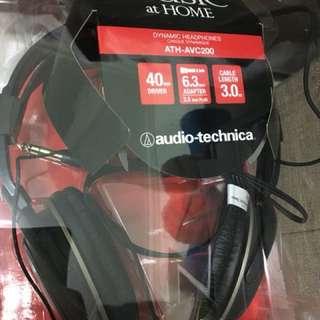 Audio Technica Headset ATH-AVC200 (Brand New)