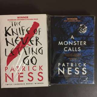 Books Patrick Ness a Monster Calls, the knife never letting go