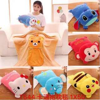 Pillow and blanket (2 in 1)
