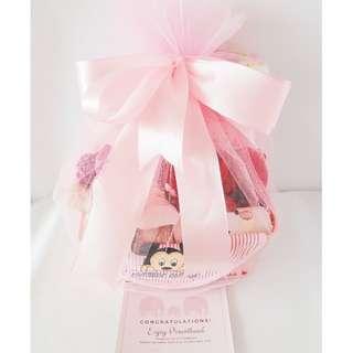 Dainty Baby Girl Gift Basket