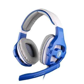 New & Original SADES SA-903 (Blue) gaming headset
