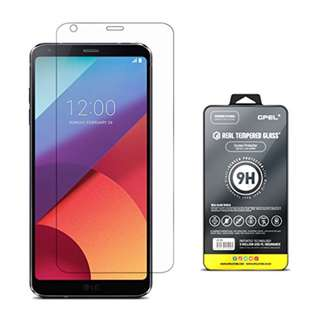 LG G6 Screen Protector Tempered Glass [True Edge to Edge Full Coverage] GPEL Real Tempered Glass, Edge to Edge, HD Clear, Bubble Free, Premium Japanese Asahi Glass