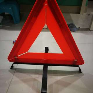 Perodua warning hazard triangle