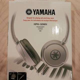 Yamaha HPH-50WH headphone