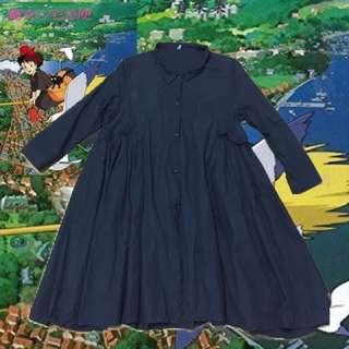魔女魔女宅急便日本黑色洋裝