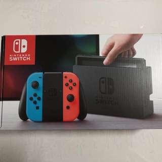 Nintendo Switch (1 yr local warranty)