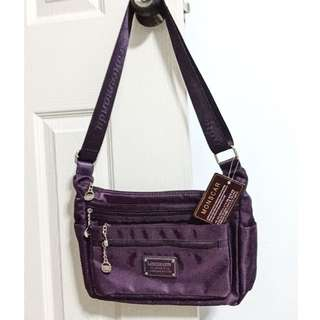 Purple Spacious Slingbag