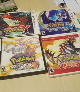 Pokemon Nintendo 3DS Games - Amiibo