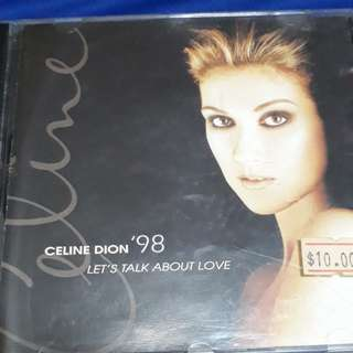 ' Let's talj about love' - Celine Dion ( cd audio )
