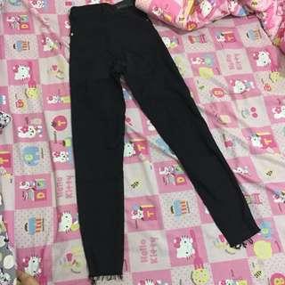 Bershka Ripped Jeans Highwaist