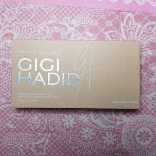 Gigi Hadid Maybelline eye contour palette