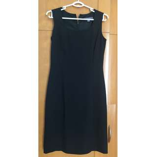 Pre-owned Black office dress