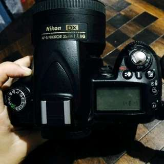 Nikon d90 with Nikor 35mm 1.8g