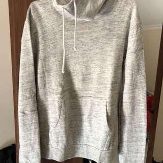 Light Grey Cream Neck Sweater H&M