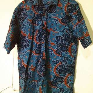 Baju Atasan Batik Pria XL