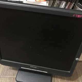 電腦顯示器 topcon 15吋