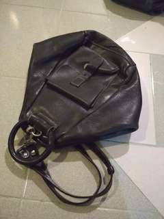 Vintage santa barbara leather handbag