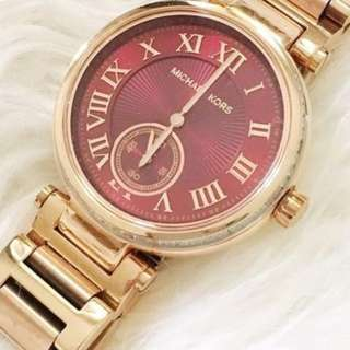 Michael Kors 女裝玫瑰金手錶
