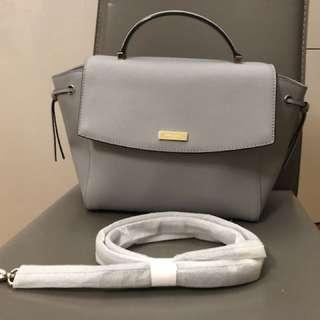Kate Spade 大象灰 手提包 bag Grey