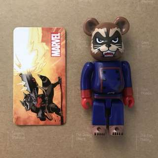 Bearbrick 100% Rocket Raccoon