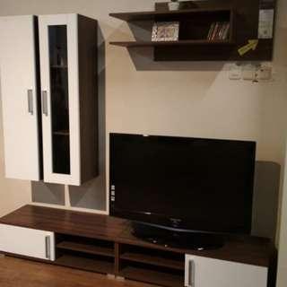 Rak tv dan lemari