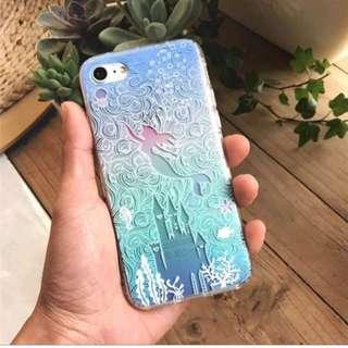 迪士尼美人魚手機殼 Disney Iphone phonecase