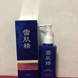 Kose Sekkisei Facial Liquid Wash