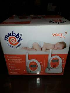 MEBBY Voice 2 Baby Monitor