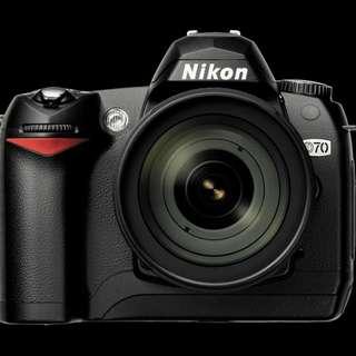 Nikon D70 & Nikon 18-70mm lens