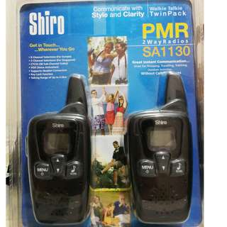 SHIRO SA1130 Walkie Talkie Twin Pack