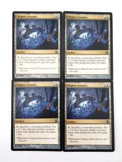 4x Thopter Foundry Alara Reborn Magic The Gathering