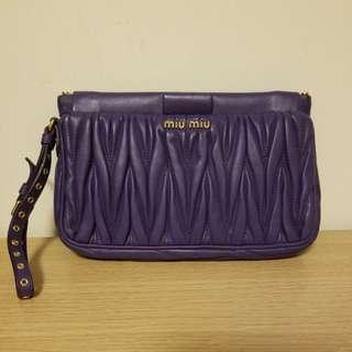 Miu Miu 紫色 Clutch Bag