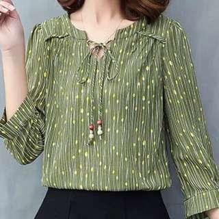 Female sleeve shirt