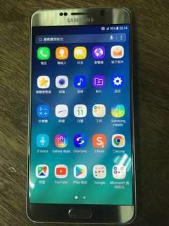 Samsung note 5 32gb 金色 行