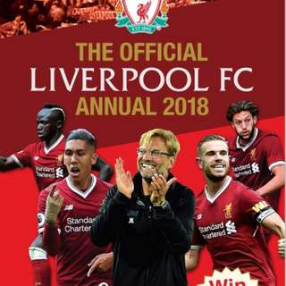 Official Liverpool Football Club Annual 2018