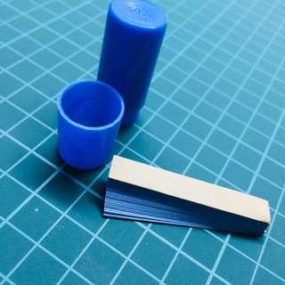 藍色の石蕊試紙