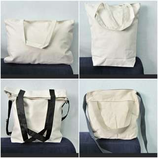 (Instock) DIY Canvas Tote & Sling Bag