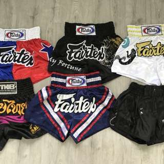 Muay Thai shorts (all size M)