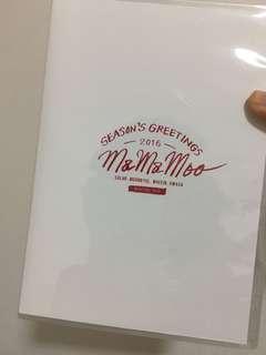 Mamamoo 2016 season greeting dvd !:)