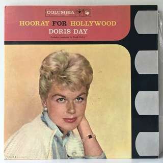 Doris Day ‎– Hooray For Hollywood (1958 USA Original 2LP in Gatefold Sleeve - Vinyl is Excellent)