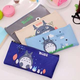 [PO] Totoro and Cartoons Pencil Case