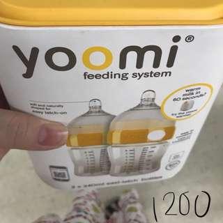 Yoomi feeding bottle